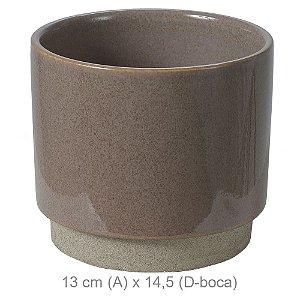 Vaso Cerâmica 13cm - Fendi