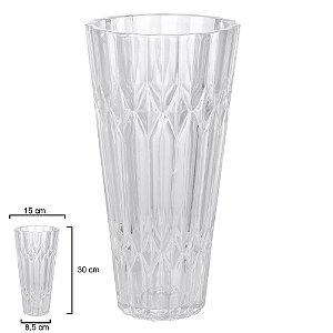 Vaso Cristal Ecológico 30cm - Transparente