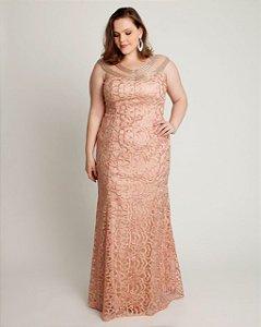 Vestido Marselha Rosé
