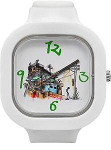 Relógio Quebrada - Branco