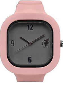 Relógio Cinza / Rose