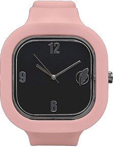 Relógio Preto / Rose