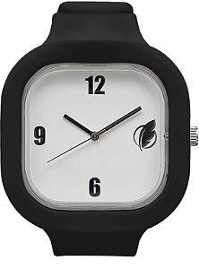 Relógio Branco / Preto
