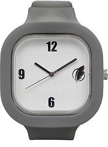 Relógio Branco / Cinza