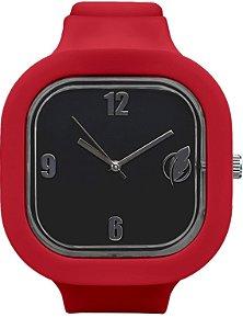 Relógio Preto / Marsala