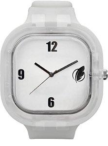 Relógio Branco / Invisible