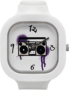 Relógio BoomBox - Branco