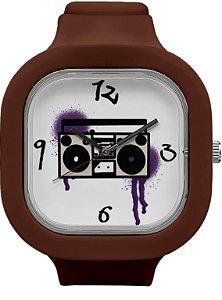 Relógio BoomBox - Coffee