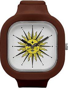 Relógio Sol - Coffee