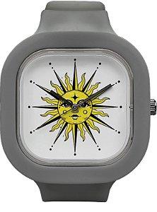 Relógio Sol - Cinza