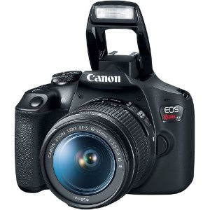 Canon EOS Rebel T7+ + Lente 18-55mm f/3.5-5.6 IS II