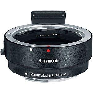Adaptador Canon - Lentes Canon EF/EF-S em Câmeras Canon EF-M