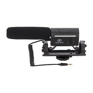 Microfone Direcional Greika - GK-SM10 (para DSLR)