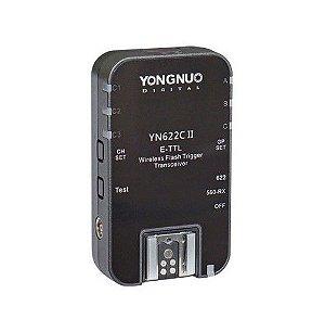 Rádio Flash Yongnuo YN-622C II E-TTL (para Canon) AVULSO