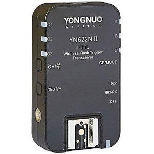Rádio Flash Yongnuo YN-622N II i-TTL (para Nikon) AVULSO