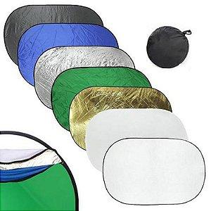 Rebatedor Oval Greika 7 em 1 - 180 x 112cm