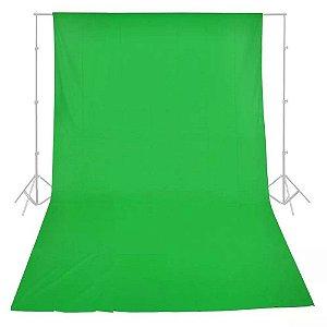 Tecido Para Fundo Infinito Verde (chromakey) - Greika - 3 x 5 metros