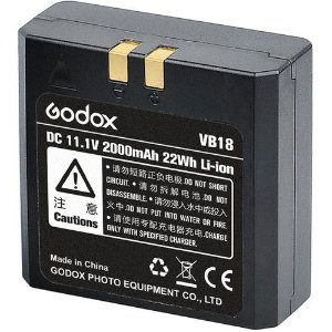 Bateria Recarregável Godox VB-18 (Original)