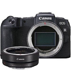 Canon EOS RP Mirrorless + Adaptador Canon para Lentes EF e EF-S