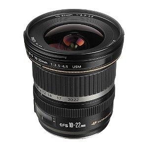 Lente Canon EF-S 10-22mm f/3.5-4.5 USM