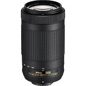Lente Nikon AF-P DX 70-300mm f/4.5-6.3G ED