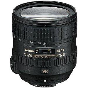 Lente Nikon AF-S 24-85mm f/3.5-4.5G ED VR