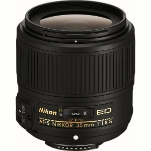 Lente Nikon AF-S 35mm f/1.8G ED