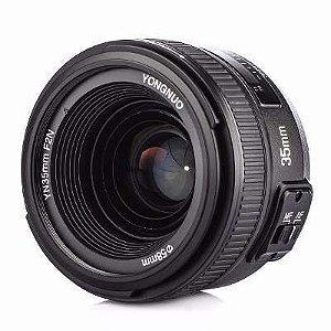 Lente Yongnuo AF-S FX 35mm f/2 (para Nikon)