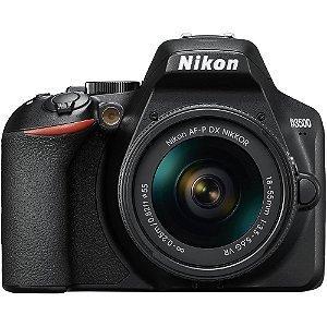 Nikon D3500 + Lente AF-P 18-55mm