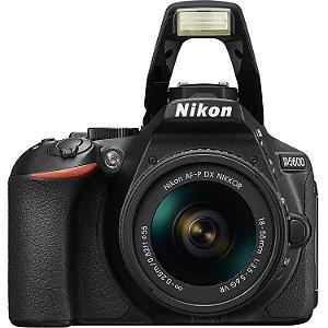 Nikon D5600 + Lente AF-P 18-55mm