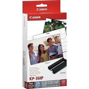 Papel Fotográfico 10x15cm + Cartucho - Canon KP-36IP