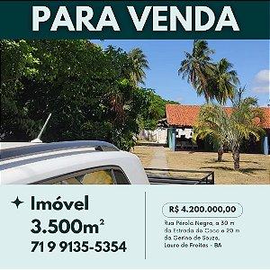 IMÓVEL PARA VENDA | 3.500m² + Benfeitorias