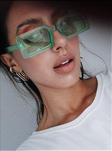 Óculos verde