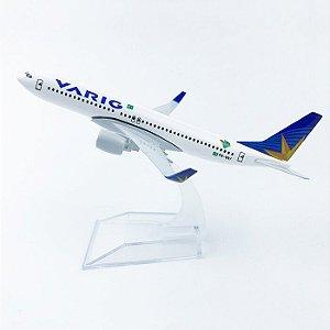 Maquete Boeing 737 Varig