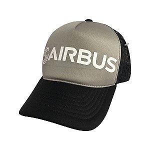 Boné Airbus cinza