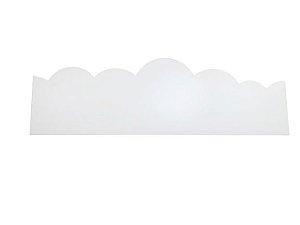 Border Nuvem com LED - Branco Frio