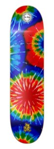 SHAPE WOOD EIGHT - TIE DYE 8.0""