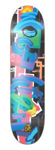 WOOD EIGHT - GRAFFITI 8.25""