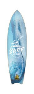 SHAPE CRUISER FISH WOOD LIGHT - SURF