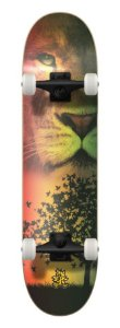SKATE WOOD LIGHT - LION
