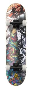 SKATE WOOD LIGHT - GRAFFITI