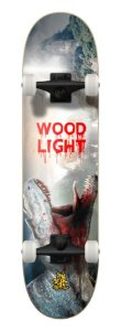 SKATE WOOD LIGHT - DINOSAUR