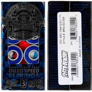 Rolamento Speed Demons Abec 3