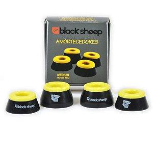 Amortecedor Black Sheep Amarelo - Medium (dureza 90A)