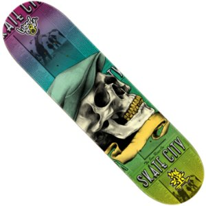 Shape Wood Light Eight Skate City Skull Hat (LIXA GRÁTIS)
