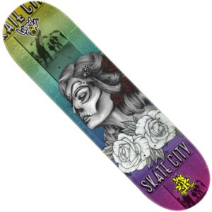 Shape Wood Light Eight Skate City Woman (LIXA GRÁTIS)