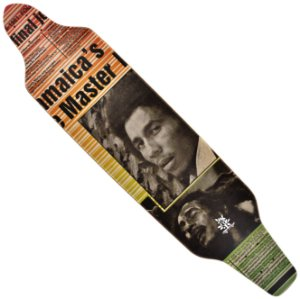 Shape Wood Light Longboard Assimétrico Bob Marley Magazine