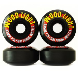 Roda Wood Light 53mm Preta