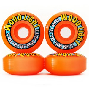 Roda Wood Light 53mm Laranja