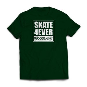 Camiseta Wood Light Skate 4ever Verde Musgo